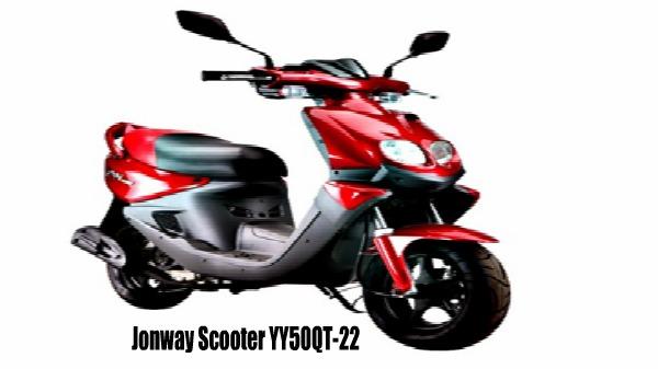 Jonway Scooter YY50QT-22
