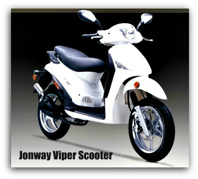 Jonway Viper Scooter