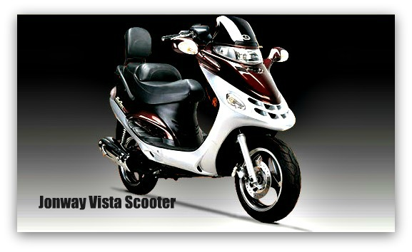 Jonway Vista Scooter