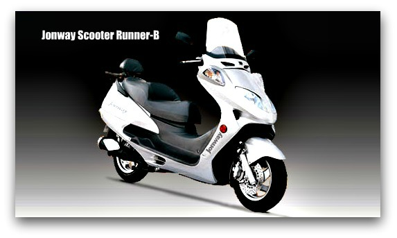 Jonway Scooter Runner B