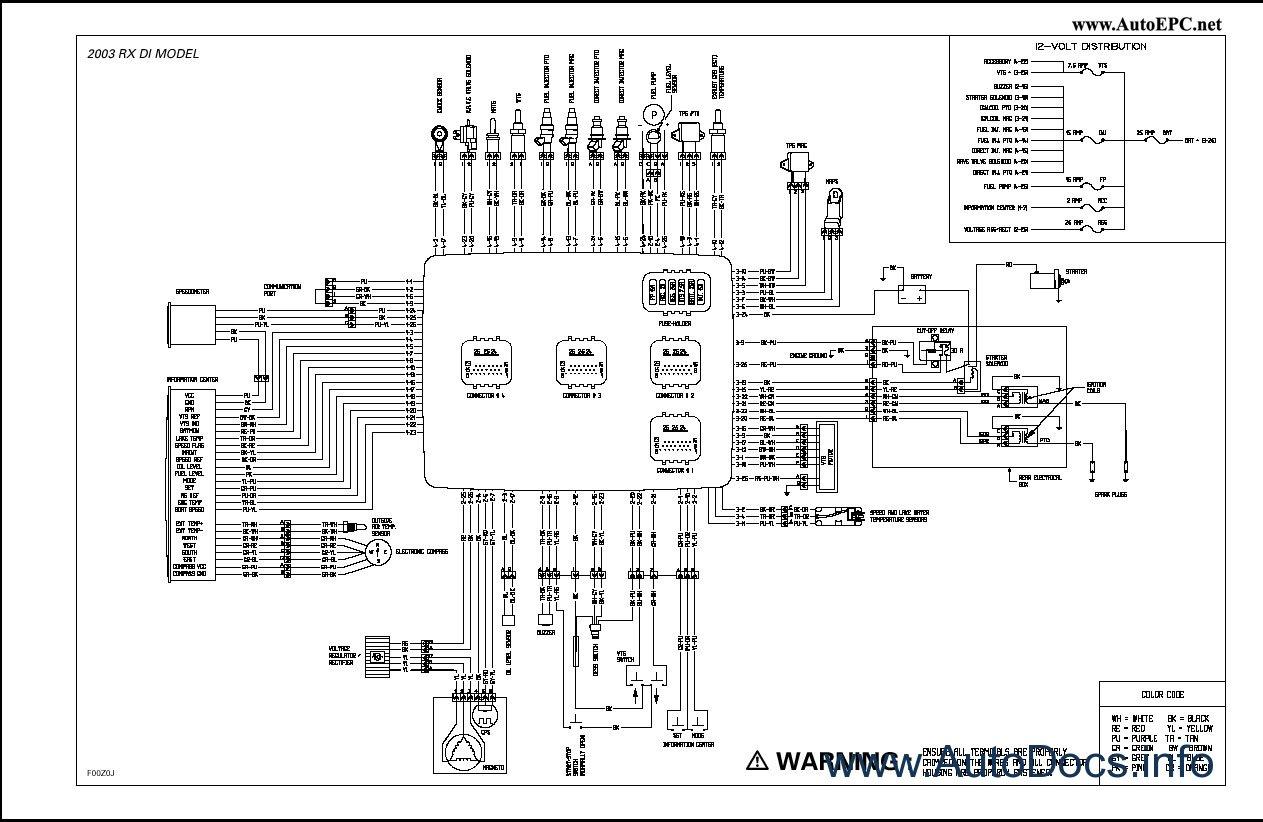 Sea Doo Gti Wiring Diagram