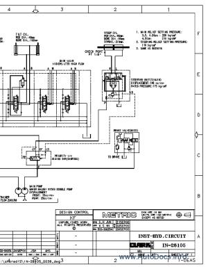 Clark Forklift Trucks Service Manuals repair manual Order & Download