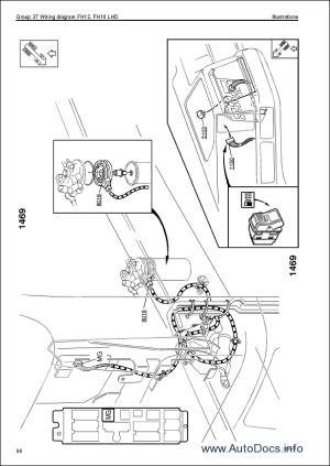 Volvo Trucks Wiring Diagrams for FM9, FM12, FH12, FH16