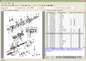 Landini Galileo 2009 parts catalog Order & Download