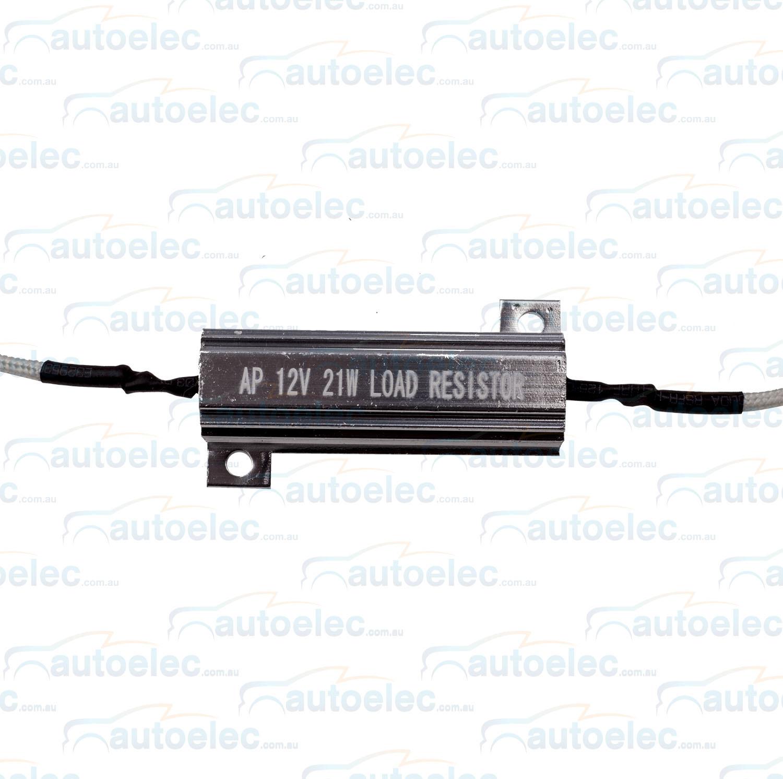 Led Load Resistor 12v Single Front Or Rear Indicator Bull