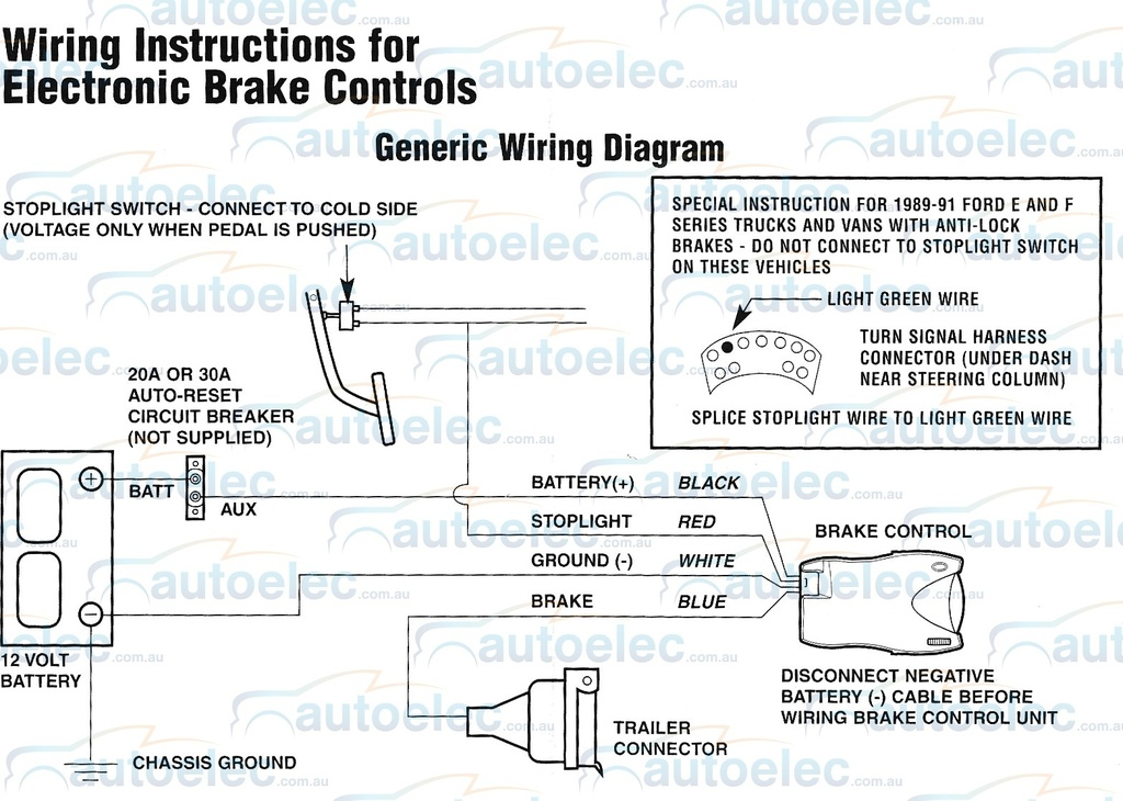Captivating Tekonsha Voyager Wiring Diagram Ford F250 Pictures