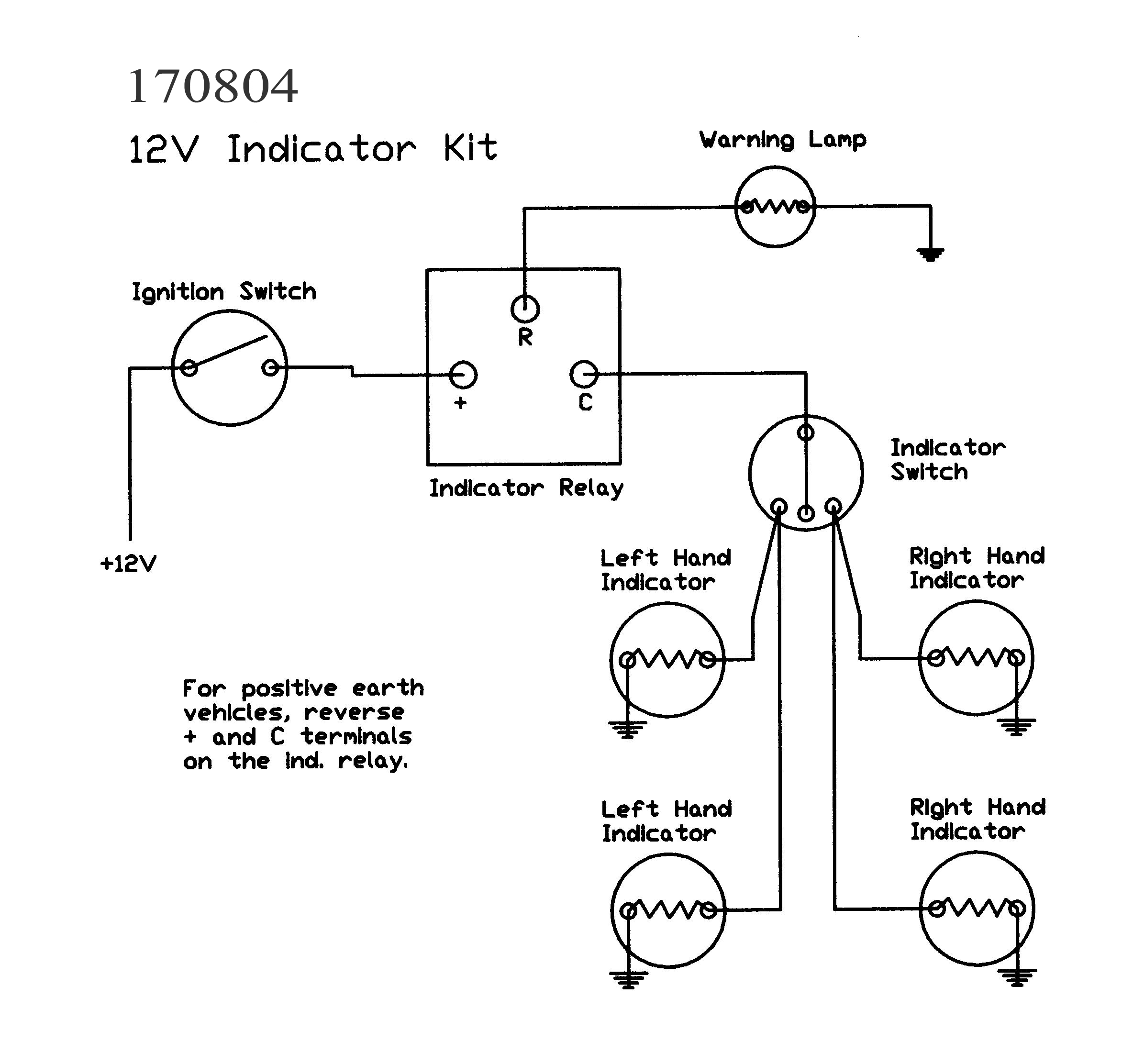 6 Volt Electronic Flasher Diagram