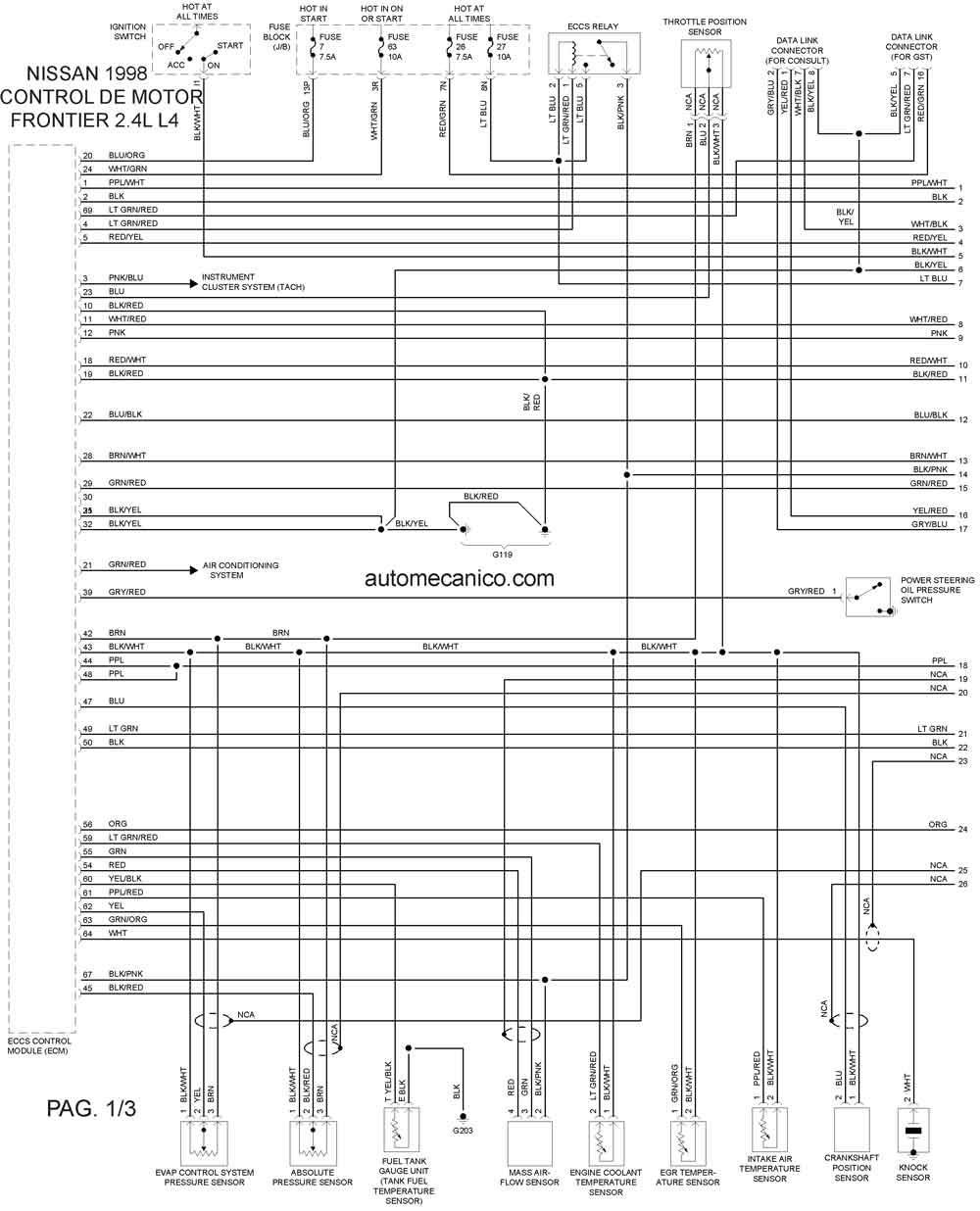 Nissan Pulsar Stereo Wiring Diagram Diagrams 1996 Tacoma Pnp N16 Pathfinder 2001