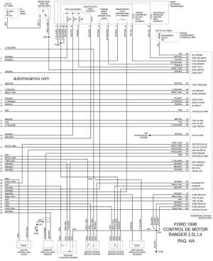 Ford 1998 | Diagramas  Esquemas  Graphics | vehiculos  motores | mecanica automotriz