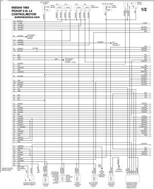 NISSAN 1995  Diagramas control del motor  Graphics