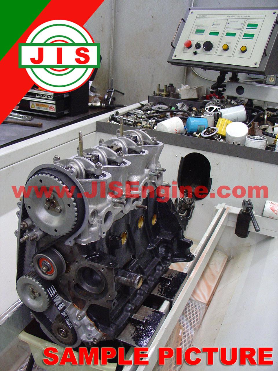 Toyota 95 98 Tercel 5efe Engine Long Block Tlb5el