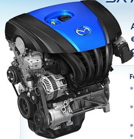 Motor Skyactiv-G. taxa de 14:1.