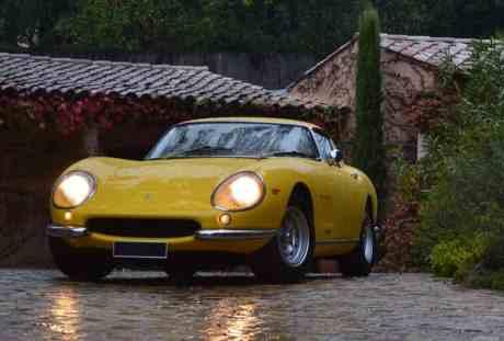 Foto Legenda 03 coluna 5014 - 1966 Ferrari 275 GTB