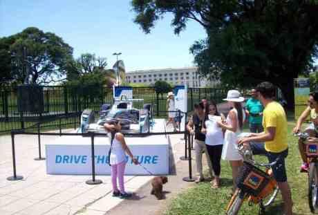 Show car da F-E em exibição em Palermo (Foto ACA)