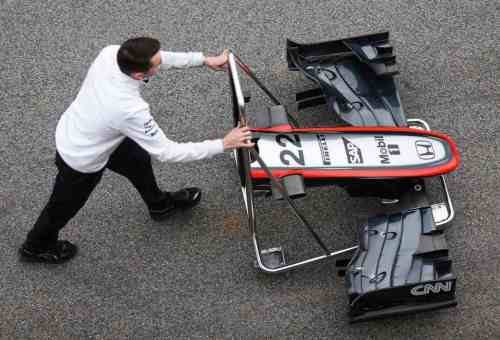McLaren e Honda andaram pouco (McLaren Media Centre)