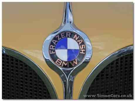 Frazer-Nash BMW 319/1 - badge