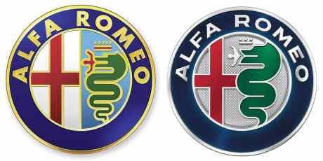O logo atual e o renovado