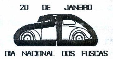 Partindo do desenho do Fusca eu desenvolvi a minha versão do Logo do DNF