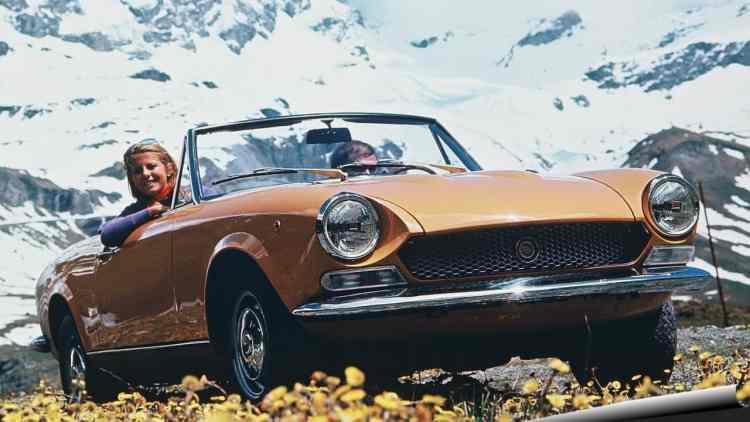 Fiat 124 Sport Spider 1969