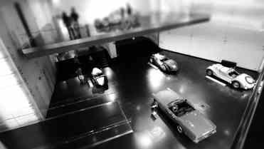 Vista parcial do salão dos roadsters