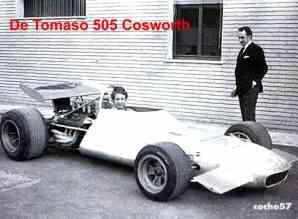 Alejandro de Tomaso e seu 505 F1