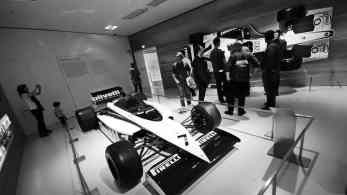 Brabham BT54 de 1985 pilotado pelo Piquet