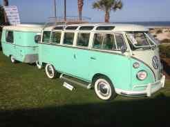 Kombi Bus com trailer 1955