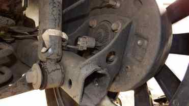 Detalhe do conector do ABS