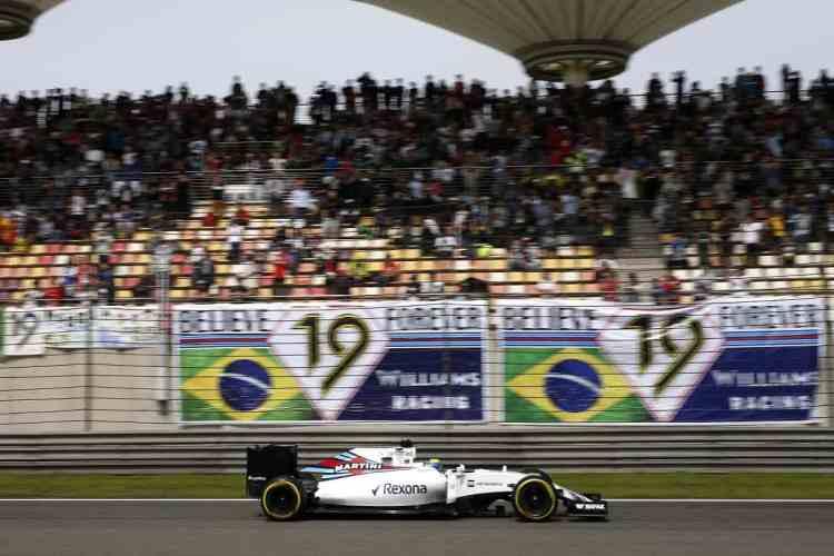 Massa: andou forte, mais forte que seu carro permitiu e muito mais do que sua equipe oferece (Foto LAT/Williams)