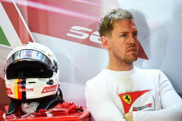 Sebastian Vettel não mostra a consistência da temporada passada (Foto Ferrari)
