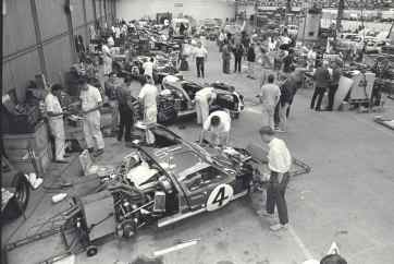 Preparativos para a prova de 1966