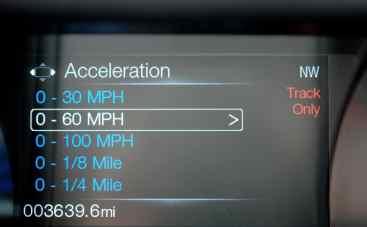 Cronômetro para medir aceleração