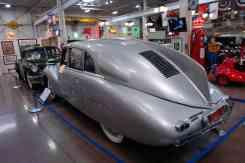 O Tatra impressiona, pois é aerodinâmico até aos olhos