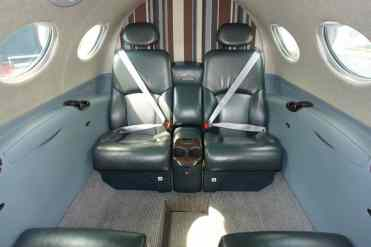Interior do Citation Mustang