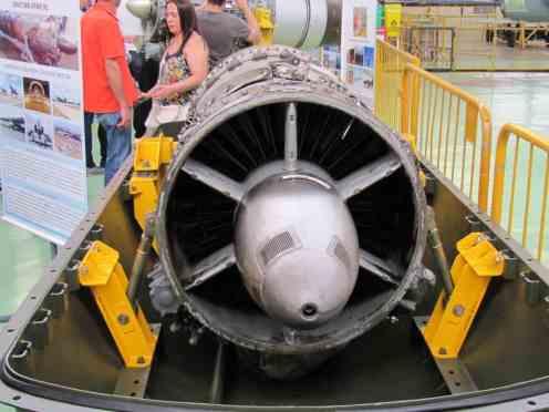 Motor Snecma Atar 9C do Mirage