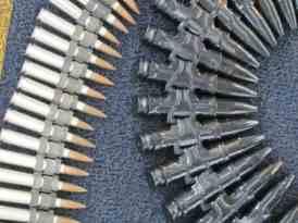 Munição de canhão de 20 mm do Mirage e .50 do A29 Super Tucano