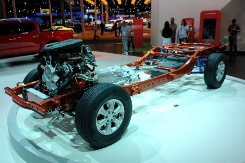 Chassis da Nissan Frontier