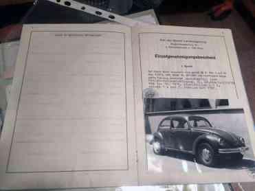 Página de identificação do veículo