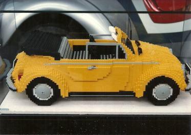 Fusca cabriolé de Lego