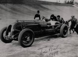 O primeiro Bentley 4,5 litros com compressor, Birkin ao volante