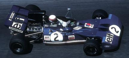 Em 1971, no Tyrrell 001