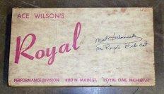 Cartão da Royal de Ace Wilson (myclassicgarage.com)