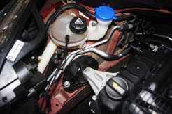 Pintura do cofre do motor é incompleta