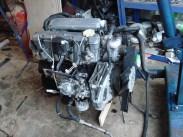 O motor do Land Rover Defender Diesel; nasceu em ciclo Otto e depois convertido para Diesel (landyzone.co.uk)