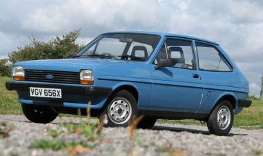 O primeiro Fiesta, sucesso em todos mercados onde foi vendido