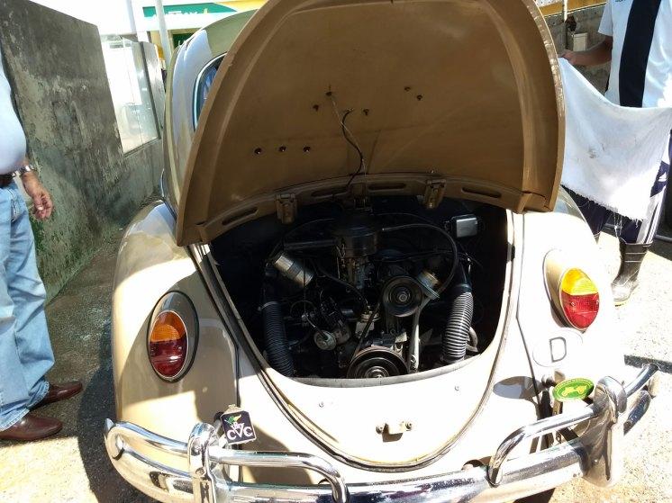 O motor ficou limpinho (Foto: autor)