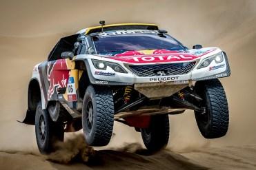 No Dakar, fora do chão (PSA Media)