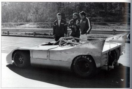 Testes do protótipo em Road Atlanta, 1971