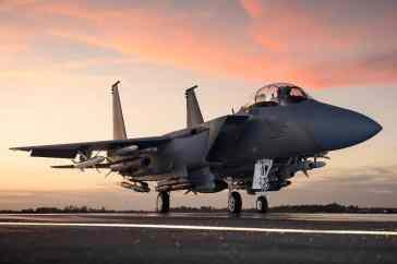 F-15SE, com menor detecção por radar (Boeing/MDD)