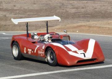 Lola T160 de 1968 com John Surtees